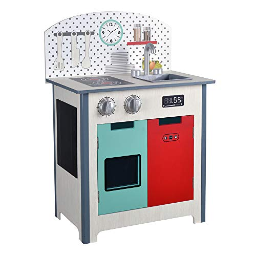 ColorBaby - Cocina madera 47 x 30 x 69 cm - Fashion...