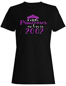 Nacen pequeñas princesas en 2002 camiseta de las mujeres c198f