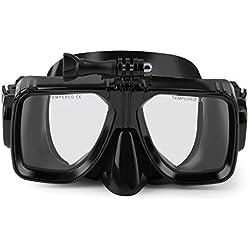 OUTAD Masque de Plonge Snorkeling Lunettes Compatible avec Caméra Gopro