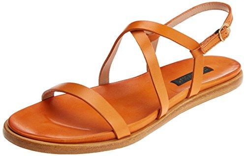 Neosens Women's S946 Restored Skin Carrot/Aurora Open Toe Sandals, Orange, 6 UK 6 UK