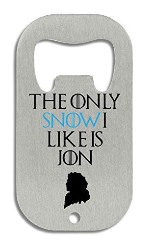 The Only Snow I Like is Jon Flaschenöffner (Film Quote T-shirts)