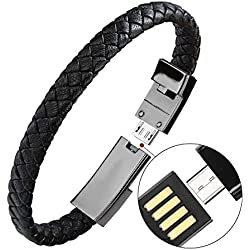 410IA v7XwL. AC UL250 SR250,250  - Cet Elégant Bracelet est un Cable Lightning Universel (video)