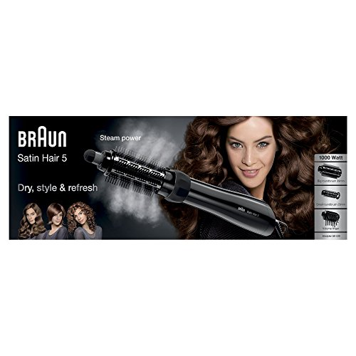 Braun Satin Hair 5 AS530 Airstyler Warmluft-Lockenbürste / Glättungsbürste