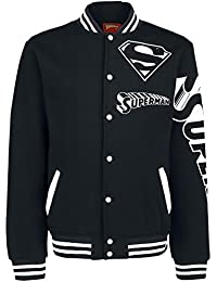 Superman Superteam Veste Collège noir