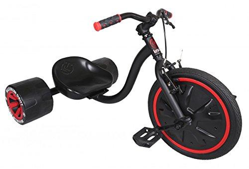 Mini Drifter KRUNK by MADD Gear | Mehr als nur ein Dreirad für Kinder | Solide Stahl-Konstruktion | Spektakuläre Drifts dank der robusten 16' vollbereiften Vorderräder und speziellen Hinterreifen | Mit einem 5er-Pack Aufkleber für die individuelle Gestaltung | Max. Belastung: 68 kg | Geeignet ab 5 Jahren
