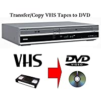 SONY RDR-VX410 MULTI FORMAT DVD RECORDER & VCR VHS VIDEO RECORDER COMBI - TRANSFER VHS TAPES TO DVD