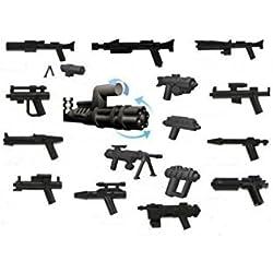 Personnalisé Little Arms Set 16 armes et accessoires