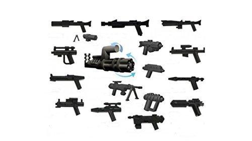 Little Arms Waffen Set 16 Waffen und Zubehör Waffen für  Minifiguren