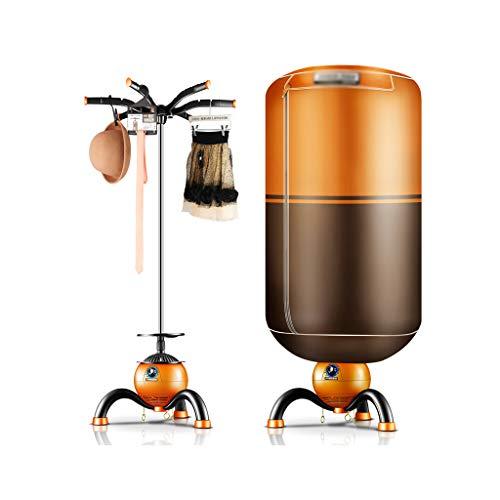 Qi Tai Secadora de Ropa Secadora de Ropa - Secadores de Redes de Seguridad Secadores domésticos Secadora Doble Secadora doméstica muda Redonda Secadora de Ropa eléctricas (Color : Orange+Brown)