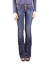 Galliano Damen MCBI130086O Blau Baumwolle Jeans