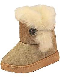 Zapatos bebé Niña Niño Amlaiworld Bebé de invierno niñas niños Botas de nieve Zapatos calientes 1 - 3 Años