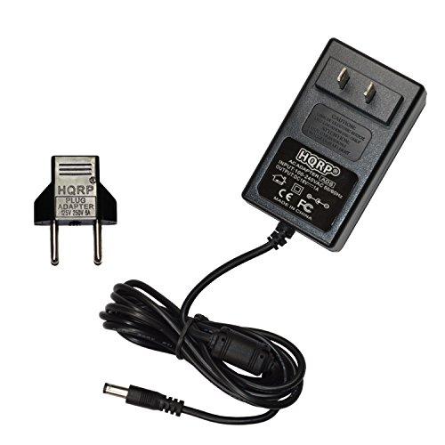 HQRP 18V Cargador / Adaptador de CA para Jim Dunlop MXR Stereo Chorus M134 / Stereo Tremolo M159 / 10-Band Graphic EQ M108