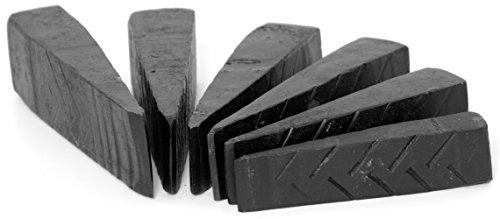 Spaltkeil, Fällkeil aus Stahl Holzspalter Holzspaltkeil K42x (3,5 KG)