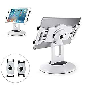 abovetek support kiosque pour ipad support de tablette commercial rotatif 360 pour tablette. Black Bedroom Furniture Sets. Home Design Ideas