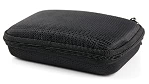 Durable Water-Resistant Hard Shell Case in Black For Seagate Backup Plus Slim Portable External Hard Drive 1TB STDR1000200 / 1TB STDR1000203 / 2TB STDR2000201 / 2TB STDR2000200 / 2TB STDR2000203 / 1TB STDR1000201 - by DURAGADGET