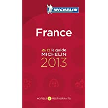 Michelin Red Guide 2013 France