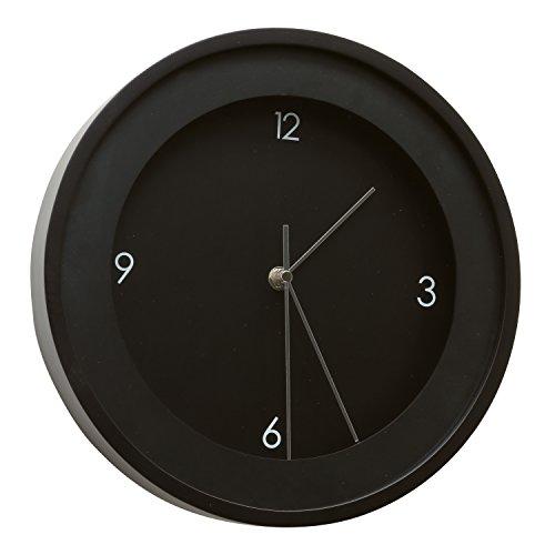 Deknudt Frames K100K2CL Horloge Rond Bois Noir Diamètre 50 cm