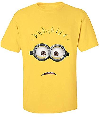 Ich - Einfach Unverbesserlich - Face - Offizielles Herren T-Shirt - Gelb, X-Large