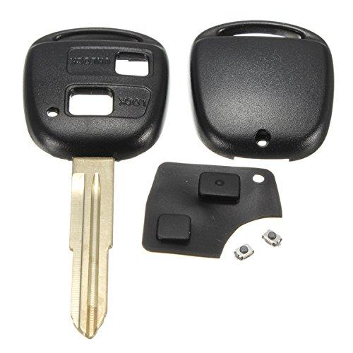 Viviance Remote Key Shell Gummi Pad Schalter Blade Repair Kit Für Toyota Yaris