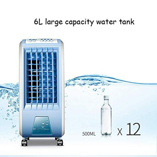 LXD Refroidisseur d'air 3 en 1 rafraîchissant les ménages avec fonction de purification et d'humidification de l'air et trois niveaux de puissance