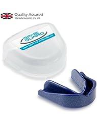 Game Guard Protector de boca y dientes,azul–bucal, aprobado CE, ideal para el deporte escolar