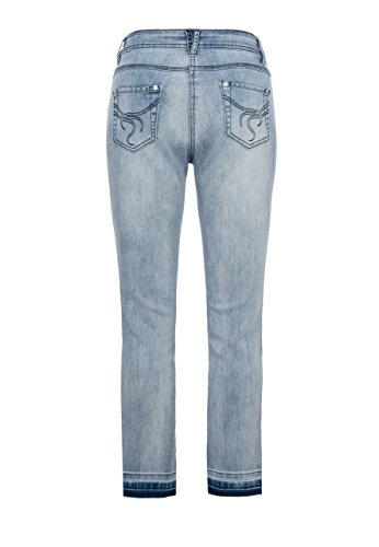 Million X Femme Victoria 7/8 Light Blue Denim
