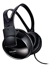 (CERTIFIED REFURBISHED) Philips SHP1900/97 Over-Ear Wired Headphone (Black)