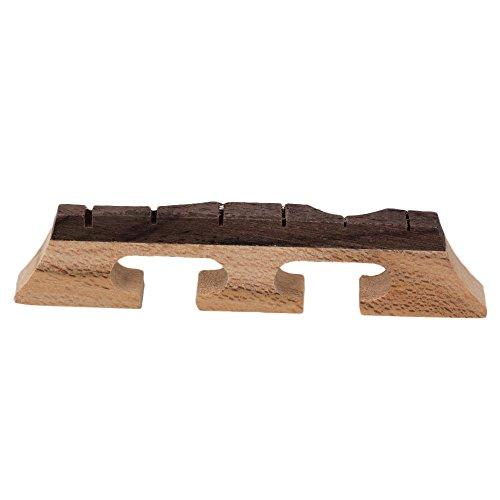 BQLZR Ahorn-Ebenholzbrücke für 6-String-Banjo