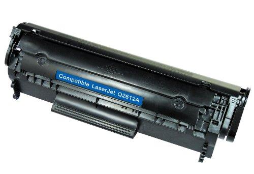 Colour Laserjet-laser-toner (White Box Q2612A/ 12A Laser-Tonerkartusche für HP LaserJet 1010/1012 / 1015/1018 / 1020/3010 / 3015/3020 / 3030/3050 / 3052/3055 / M1005)