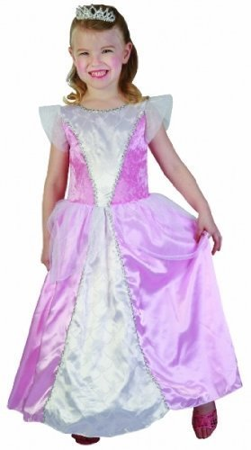 Sofias Schrank Mädchen Kleinkinder rosa Kostüm Prinzessin Fairy Tale Play Sleeping Beauty Fancy Dress