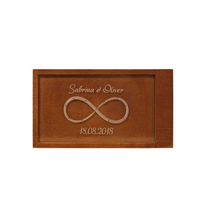 Geschenke 24: Magische Geldgeschenkebox mit Unendlichkeitszeichen (ohne Strasssteinchen) – originelle Geschenkverpackung…