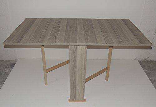 tavolo-legno-pieghevole-richiudibile-piano-in-formica-colore-tortora-modello-susanna