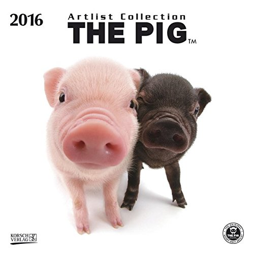 The Pig 2016: Broschürenkalender mit Ferienterminen