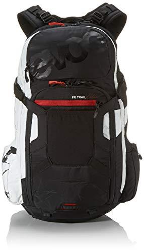EVOC Sports GmbH FR Trail Unlimited Protektor Rucksack, Black-White, M/L