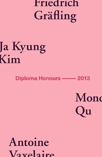 AA Diploma Honours 2013 by Friedrich Gr??fling (2013-10-15)