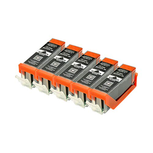 5 Druckerpatronen für Canon PGI-550BK XL IP-7250 8750 IX-6850 MG-5450 5550 6350 6450 7150 MX-725 925