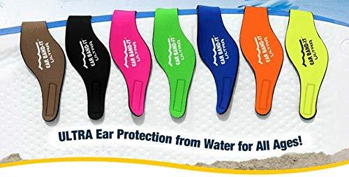 Ear Band-it Kopfband für Schwimmer (blau, medium)