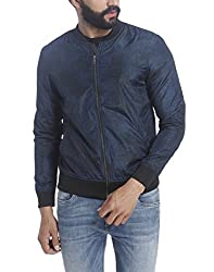 Jack & Jones Mens Synthetic Jacket (12117885_Black_X-Large)
