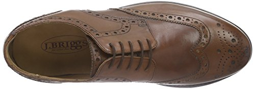 J.Briggs Goodyear, Brogues Homme Marron (whisky 178)