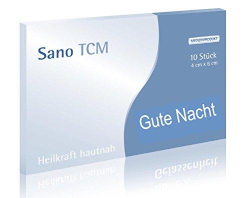 "Sano TCM \""Gute Nacht\"" Akupunktur-Pflaster, wirken analog der TCM"