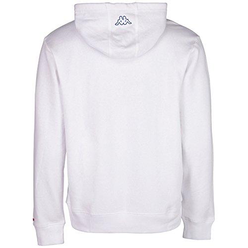 Kappa Herren Wanja Hooded Sweatshirt White
