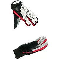Sport DirectTM Viper - Guantes para ciclismo BMX (palma ergonómica, acolchado, protección de nudillos, cierre con velcro) Talla:mediano