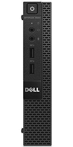 Dell PC Optiplex 9020M Desktop-PC (Intel Core i5 4590T, 2GHz, 8GB RAM, 500GB HDD, Intel HD Graphics 4600, DVD, Win 7 Pro) schwarz - Dell Optiplex Grafikkarte