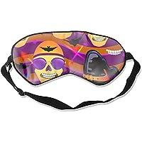 Schlafmaske, Halloween-Schädel-Maske, Maulbeer-Seide, Schlafmaske, Augenmaske zum Schlafen preisvergleich bei billige-tabletten.eu