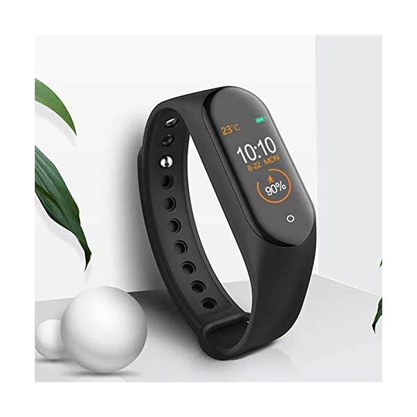Reloj inteligente de Ango, pulsera de actividad deportiva, frecuencia cardíaca, tensiómetro de la tensión arterial… 4