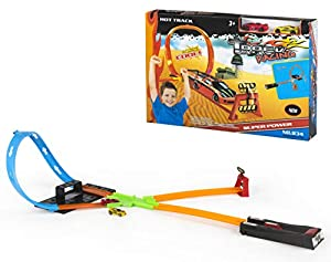 CB- Pista Looping 2 Coches, Multicolor (42992)