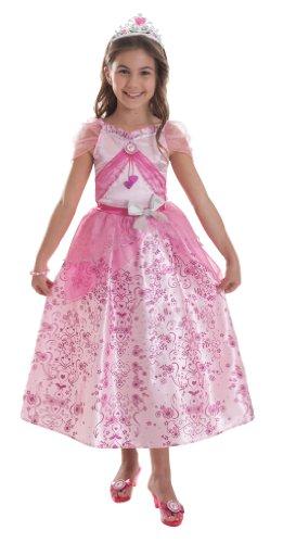 amscan Pastellfarbenes BarbieTM Prinzessinnen-Kostüm für Mädchen - 3-5 Jahre (Barbie Prinzessin Kostüm)