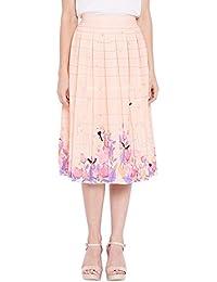 RSVP Box Pleated Skirt