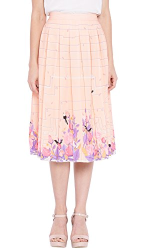Chumbak RSVP Box Pleated Skirt - M
