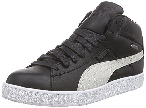 Puma Puma '48 Mid GTX, Unisex-Erwachsene Hohe Sneakers, Schwarz (black-vaporous gray-vibrant orange-white-aged silver 01), 43 EU (9 Erwachsene